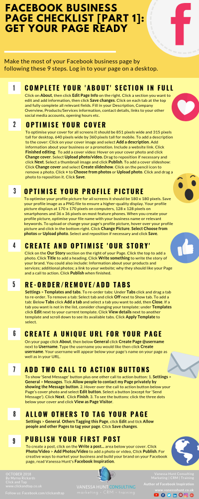 Make the most of your Facebook business page in 9 steps | Facebook